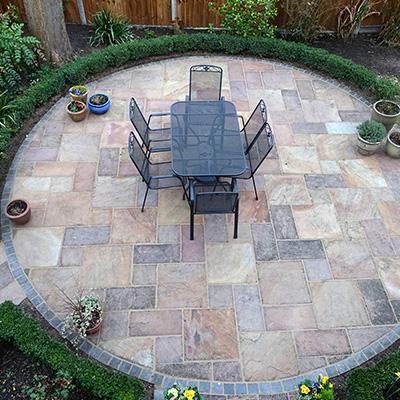 patio installation Droylsden