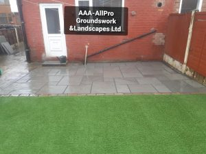 groundworks landscaping Whitefield