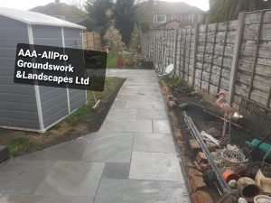 groundworks landscaping Worsley