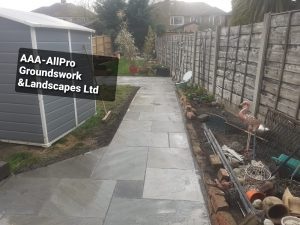 groundworks landscaping Baguley